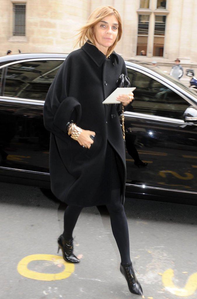Carine+Roitfeld+Outerwear+Wool+Coat+hgf8mkhoZaYx