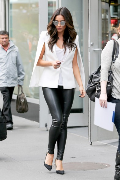 Shay Mitchell is Tres Chic in NYC